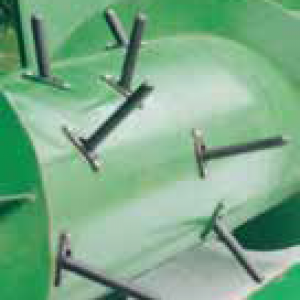 Retractable Poly Fingers for Grain Heads