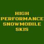 SNOWMOBILE SKIS