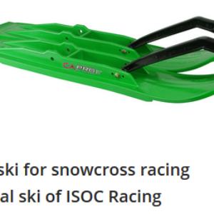 XT Snocross Racing Skis